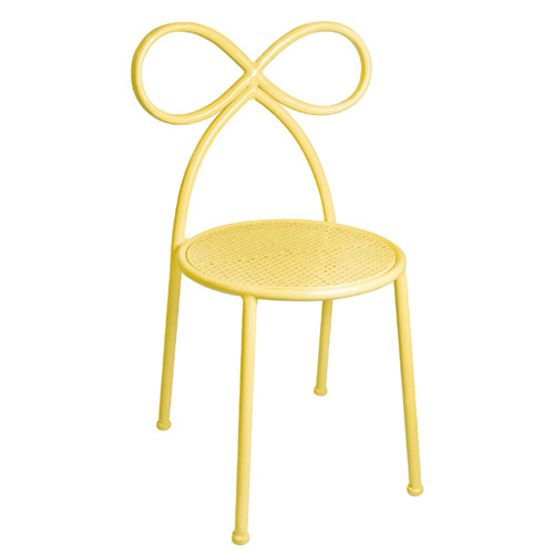Bow Chair Yellow