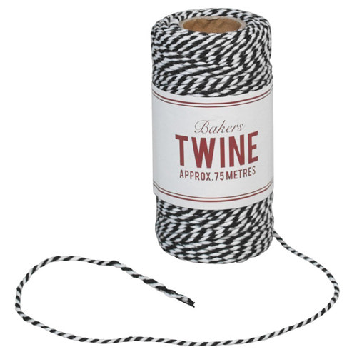 Bakers Twine (Black)