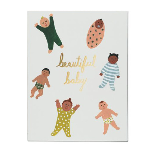 Beautiful Baby Card