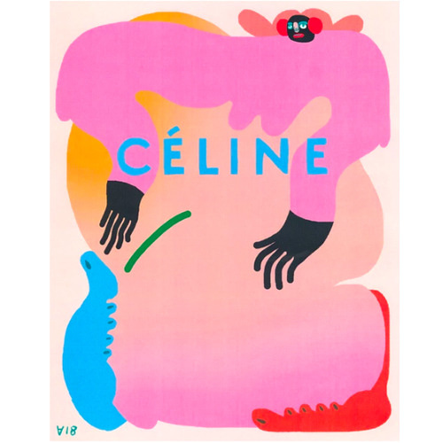 I miss the old Céline Poster
