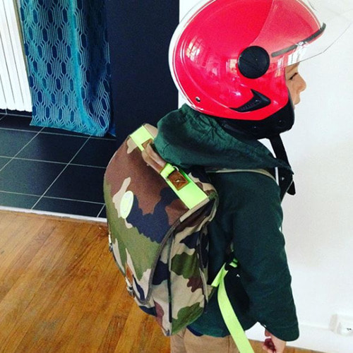 (M) Cartable Militery Neon