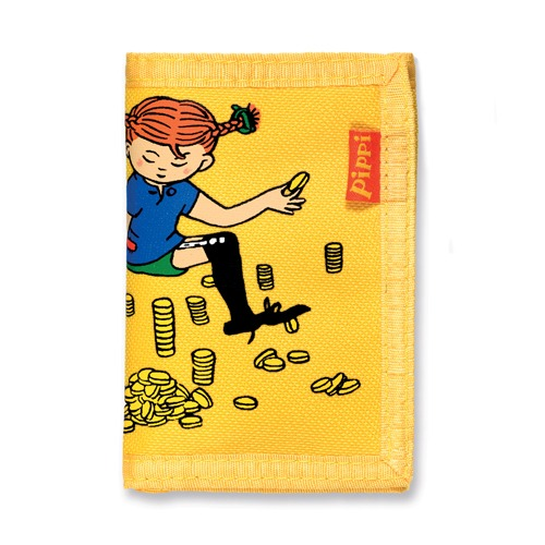 10% Pippi Wallet Yellow