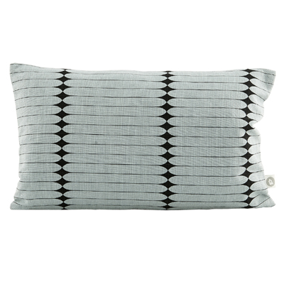40% Pillowcase Graphic Gray