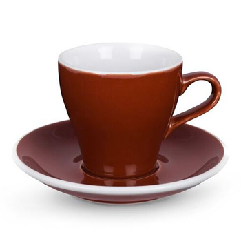 20% Acme Tulip cup & saucer (Brown)