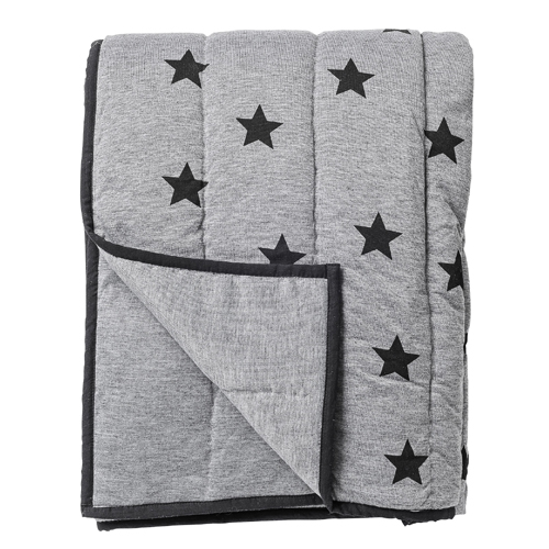 50% SALE! Star print throw Black