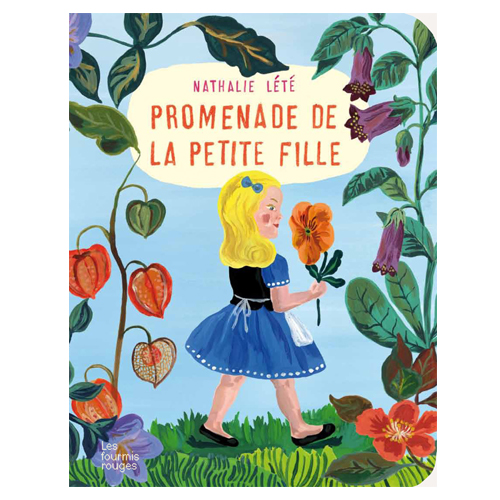 Pop up Book by Nathalie Lete (Promenade de la petite fille)