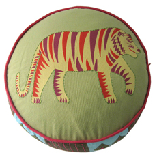 35% Sale! Tiger Round Cushion