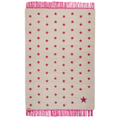 Pop Star Rug Gray/Pink