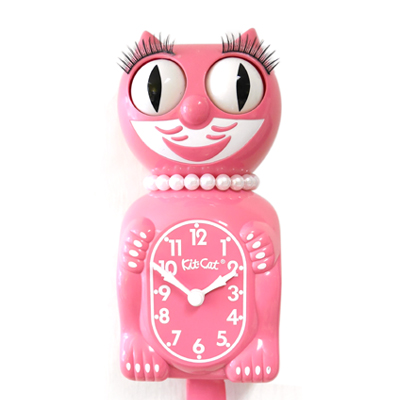 Kit Cat Clock Strawberry (Large Size)