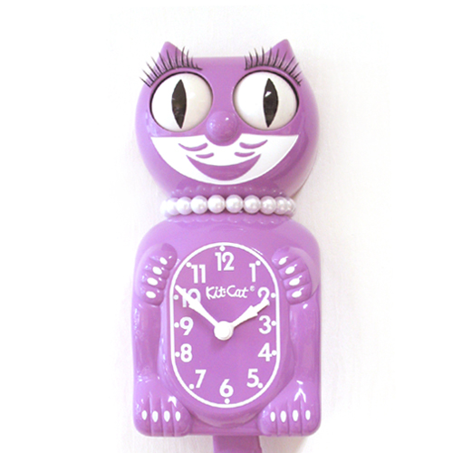 Kit Cat Clock Radiant Orchid (Large Size)