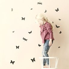 35% SALE! Mini butterflies wall sticker