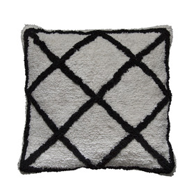 20% Berber Cushion White