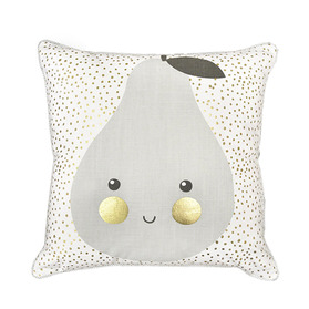Pear Gold cushion