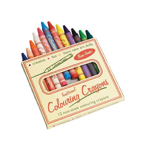 Colouring Crayons (12 colors)