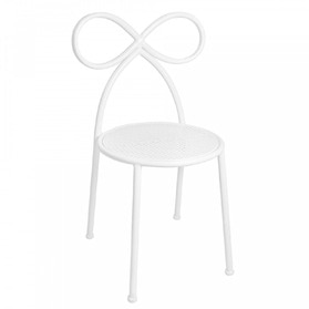 20% Bow Chair White