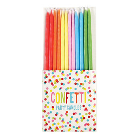 Confetti Candles (12 sets)