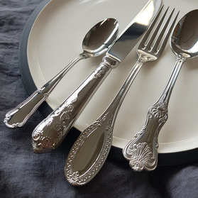 Silver Classic Cutlery (4인조 세트)
