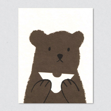 butty bear card