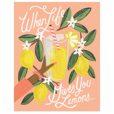 50% Lemon to Lemonade Poster