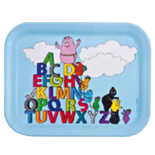 SALE! Barbapapa Alphabet tray♡
