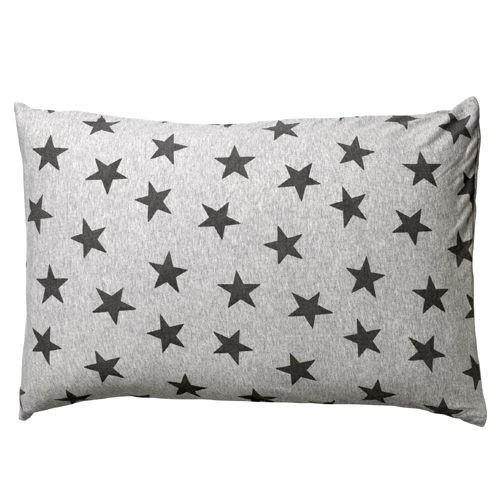 50% SALE! Star print cushion gray