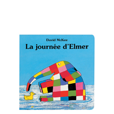 La journee d'elmer by David Mckee