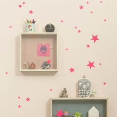 Mini Stars Wall Stickers Neon