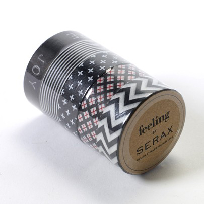 Washi Tape Chic Black