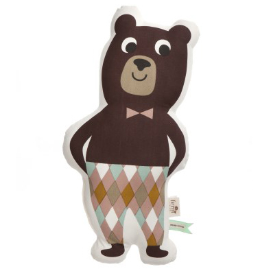 Mr. Bear cushion