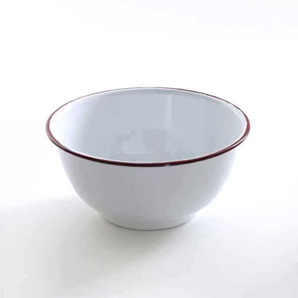 French Red edge bowl