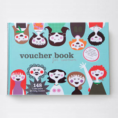 Voucher book for women (Sandra Isaksson 일러스트북)