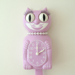 Kit Cat Clock Purple (Large Size)