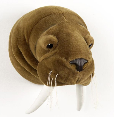 Walrus wall deco