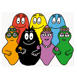 Barbapapa Family tablemat