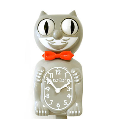 Kit Cat Clock Gray (Large Size)