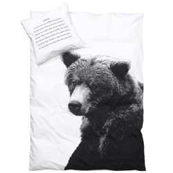 Bear single bedding set