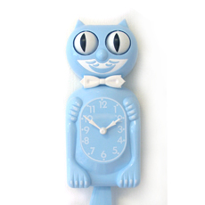 Kit Cat Clock Sky Blue (Limited)
