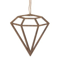 Wooden Diamond No.3