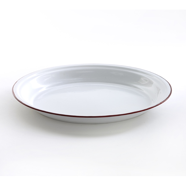 French Red edge plate 30cm