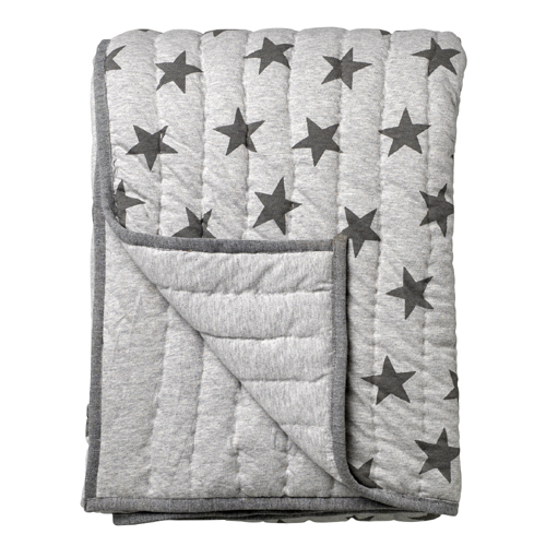 50% SALE! Star print throw gray
