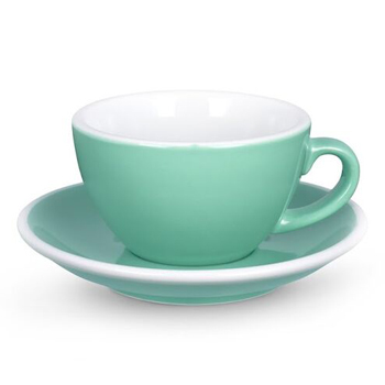 Acme Latte cup & saucer (Green)
