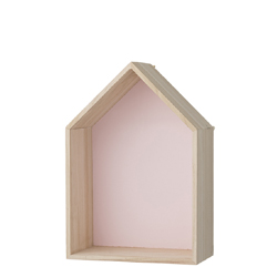 House Storage Box nude pink (S)