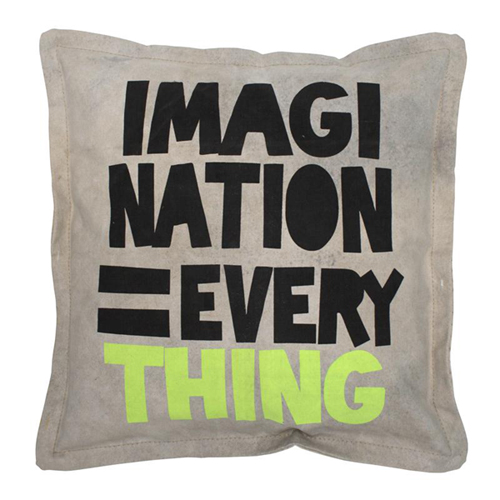 canvas cushion Imagination