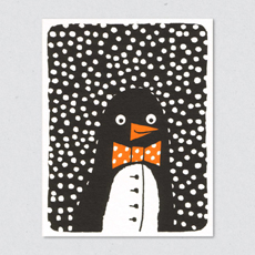 penguin card