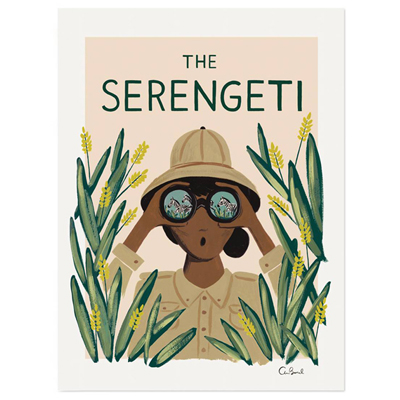 The Serengeti poster