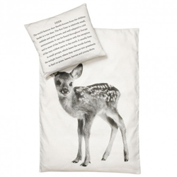 Deer baby bedding