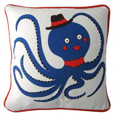 50% Octopus Cushion Cover