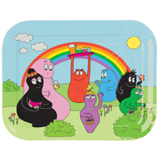 SALE! Barbapapa & Rainbow tray♡