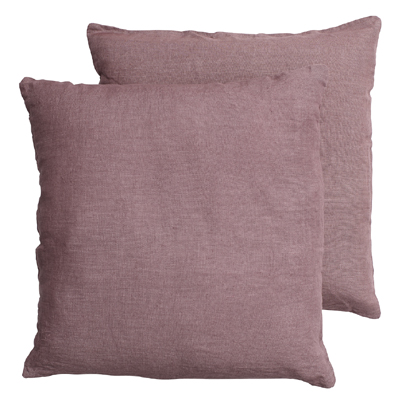 Linen Cushion Cover Ash Rose