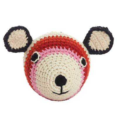 Mini Teddy Head Crochet (Mix)